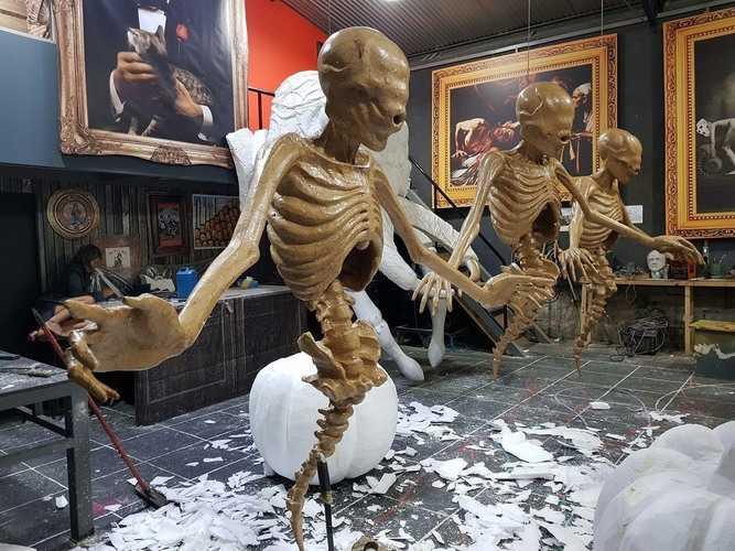 Các Mẫu Mô Hình Mút Xốp Halloween Giá Rẻ Có Sẵn Tại Quang Cảnh