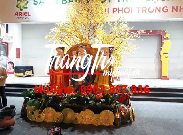 Sản xuất mô hình mút xốp trang trí 3D đẹp mùa Tết tại Quang Cảnh