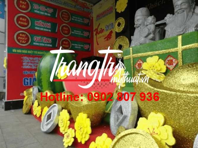 Nhận mô hình trang trí tết đẹp với mức giá cực kì ưu đãi tại Quang Cảnh