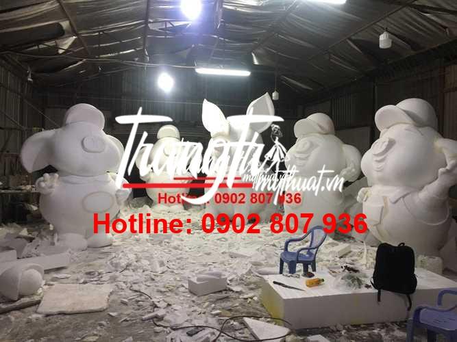 Lưu ngay xưởng điêu khắc mô hình mút xốp chuyên nghiệp tại TPHCM